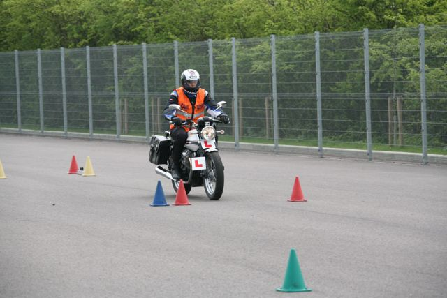 book a motorcycle test in Warwick