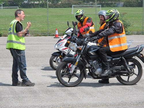 book motorcycle training in Bedlington