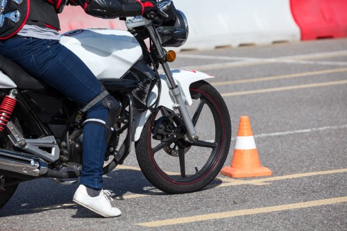 book a motorcycle test in North Shields